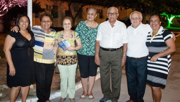 Reencontro das famílias Coelho Maia com os Coelho Régis.