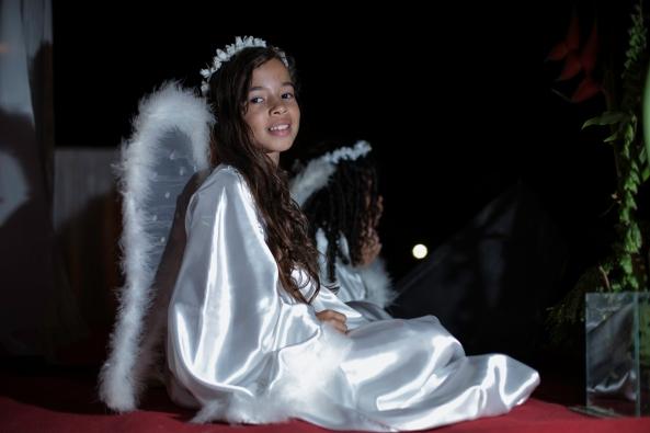 Terceira Noite de Novena de Nossa Senhora do Rosário.