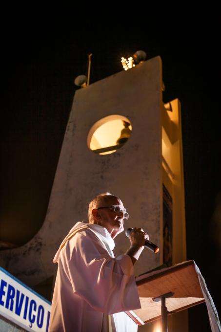 Sexta noite do novenário de Nossa Senhora do Rosário, em Remanso-BA.